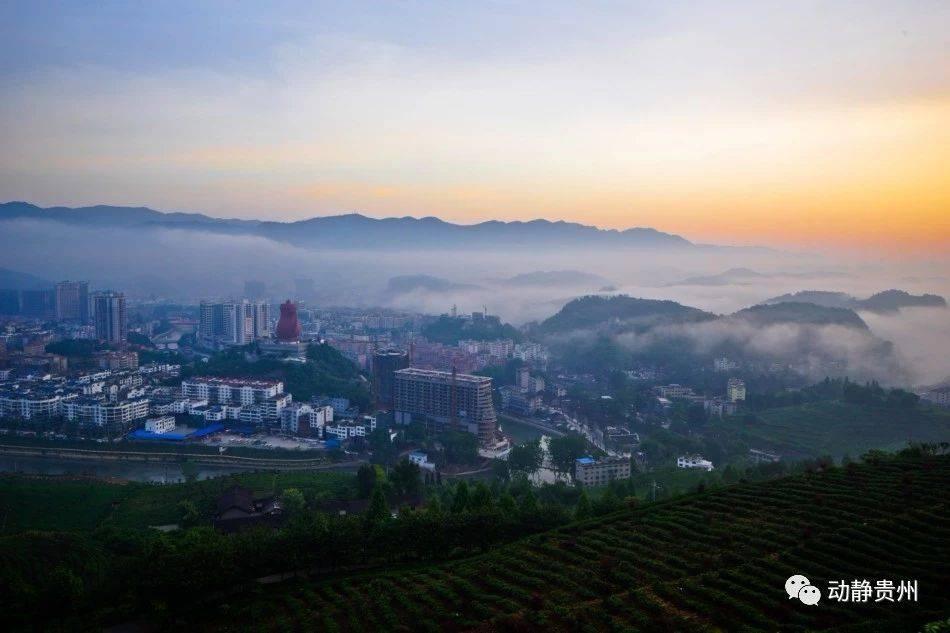 贵州独山风景照