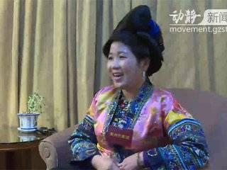 """【动静专访】全国人大代表韦祖英:从外出打工到返乡创业,她带村民绣出了""""新生活"""""""