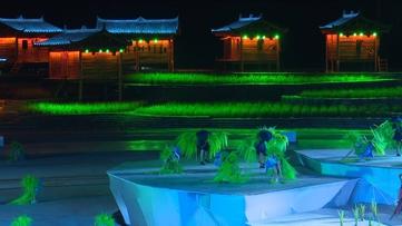 全国首部苗族大型山水实景演出《西江盛典》在雷山首演
