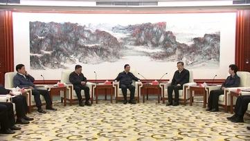 孙志刚谌贻琴刘晓凯拜会全国政协副主席刘奇葆