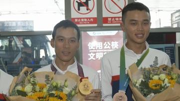 贵州新闻联播丨摘金揽铜 全运会贵州山地自行车选手载誉归来
