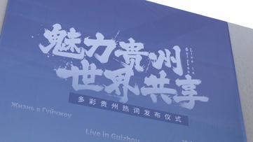 """贵州澳门银河联播丨多彩贵州热词发布仪式在京举行 发布五大""""贵州热词"""""""