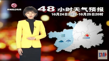 睛彩天气10月23日