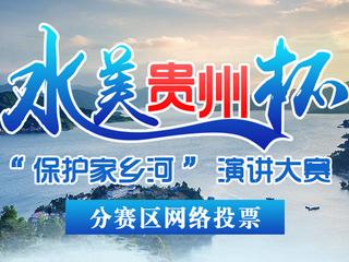 """水美贵州杯""""保护家乡河""""演讲大赛分赛区网络投票"""