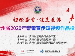 """投票开始啦!""""扫除毒害·健康生活""""贵州省2020年禁毒宣传短视频作品网络投票等你来打CALL"""