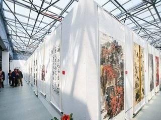 """强势围观""""溪山春兴""""贵州省美术、书法大展,展厅""""宝藏""""多多!"""