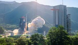 遥感三十号10组卫星发射升空  西昌卫星发射中心贵阳观测站顺利完成今年第七次任务