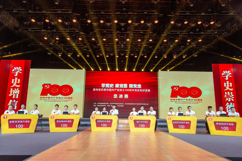 3320万人次答题!贵州省党史知识竞赛总决赛结果出炉