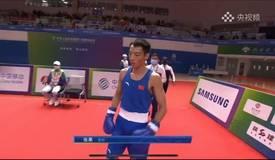 锁定奖牌!全运会拳击男子52kg级1/4决赛张果获胜!